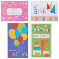 American Greetings Assorted Happy Birthday Cards and Envelopes, 12ct