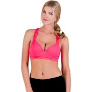 734b88fdf1 Solid Color Underwire Push Up Sports Bra