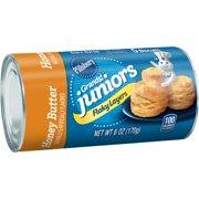 Pillsbury Grands! Juniors Honey Butter Flaky Layers Biscuits 5 Ct 6 oz