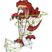 K'NEX Thrill Rides – T-Rex Fury Roller Coaster 478 Piece Building Set