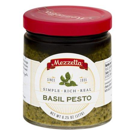 Mezzetta Basil Pesto, 6.25 OZ