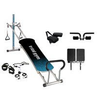 Total Gym Fitness Fusion Full Body Workout Home Fitness Exercise Machine, Teal