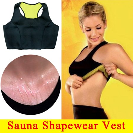Women Hot Sweat Slimming Fitness Workout Sports Vest Neoprene Sauna Thermo Body Shaper Trainer Gym Yoga S/ M/ L/ XL/
