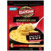 (4 Pack) Idahoan Steakhouse Loaded Potato Soup Mix, 7.1 oz