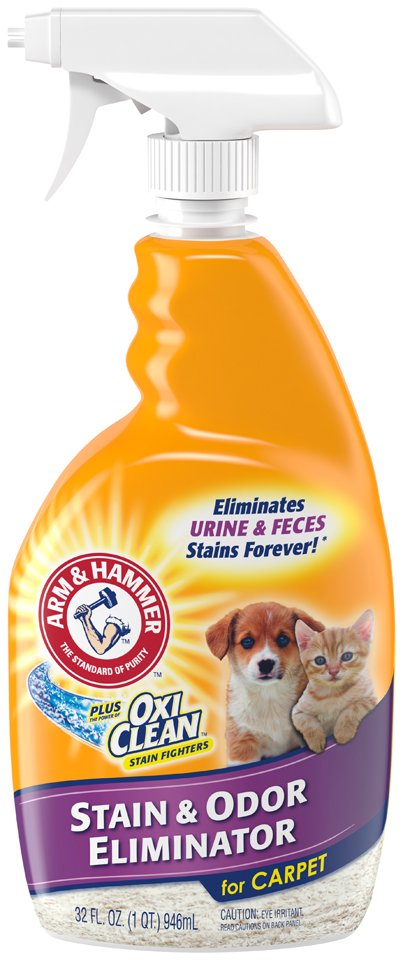Arm & Hammer Pet Stain & Odor Remover Plus Oxiclean, 32 fl (Pet Stain And Odor Remover Arm And Hammer)