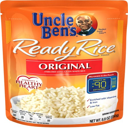 (3 Pack) UNCLE BEN'S Ready Rice: Original, 8.8oz (Glycemic Index Of Uncle Bens Converted Rice)