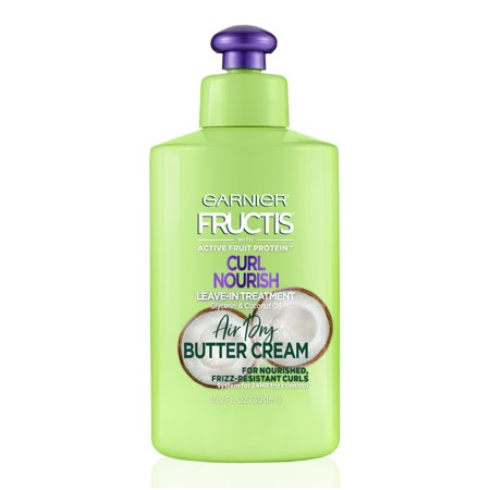 Garnier Fructis Triple Nutrition Curl Nourish Butter Cream, 10.2 fl (Avalon Nutrition Conditioner)