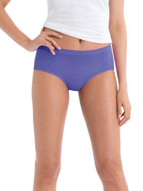 Women's Cotton Low-Rise Brief Panties - 6 Pack