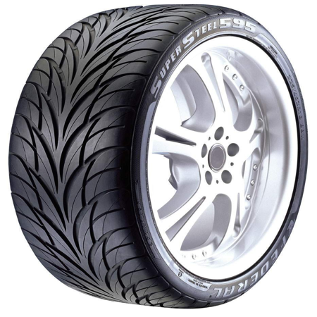 Federal SS595 High Performance Tire - 225/40R18 88W