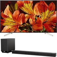 Sony 85-Inch 4K Ultra HD Smart LED TV 2018 Model (XBR85X850F) with Sony 7.1.2ch 800W Dolby Atmos Sound Bar