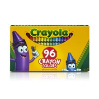 Crayola Crayons With Built-In Sharpener, Bulk Crayons, Great For Coloring Books, 96 Count
