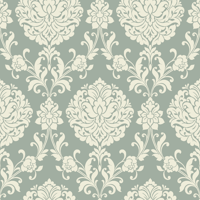 Waverly Inspirations SMALL DAMASK CRYS 100% Cotton Duck Fabric 45'' Wide, 180 Gsm, Quilt Crafts Cut By The Yard