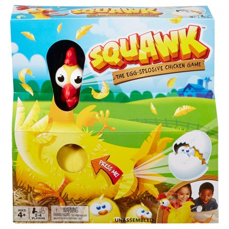 Rubber Duck Game - Squawk Eggsplosive Chicken Game for Kids Ages 4 Years and Older