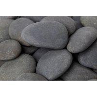 """Margo 30 lb Mexican Beach Pebble, 3"""" to 5"""""""
