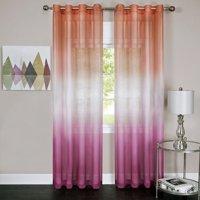 Achim Rainbow - Single Grommet Window Curtain Panel