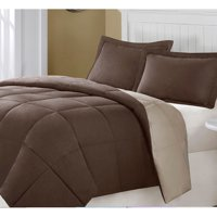Superior All Season Down Alternative Reversible Solid Comforter