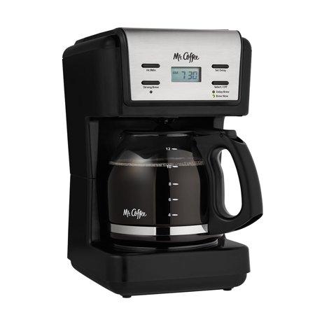 Mr Coffee 12 Cup Programmable Coffee Maker Black Bvmc