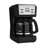 Mr. coffee 12-cup programmable coffee maker, black (bvmc-knx23)