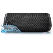 Photive HYDRA v2 Waterproof Wireless Bluetooth Speaker. Rugged Portable Shockproof and Waterproof Portable Speaker