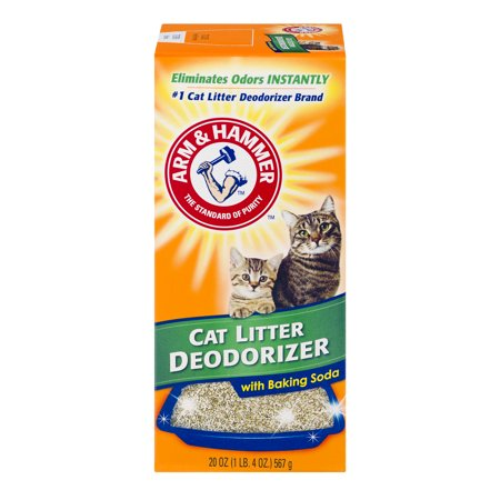 Litter Box Freshener - Arm & Hammer, Cat Litter Deodorizer With Baking Soda, 20 oz
