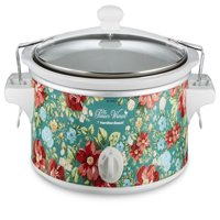 Pioneer Woman 6 Quart Portable Slow Cooker Vintage Floral | Model# 33362 By Hamilton Beach