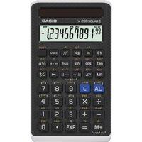 Casio FX- 260 SOLAR II Scientific Calculator, LCD Display, Black