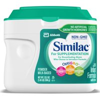 Similac for Supplementation, Powder, NON-GMO, 1.45 LB (Pack of 4)