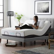 Lucid L300 Adjustable Bed Base with Dual USB Charging Ports