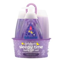 Johnson's Sleepy Time Relaxing Baby Bedtime Gift Set, 4 items