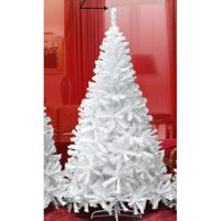 The Holiday Aisle New Realistic Natural Branches 7.5' White Classic Pine Artificial Christmas Tree