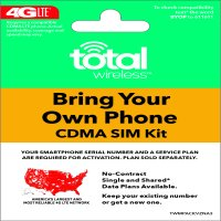 Total Wireless Bring Your Own Phone SIM Kit - Verizon CDMA Compatible