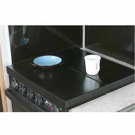 Camco Stove Top Cover, Black, Universal (Stove Insert)