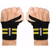 83e20e3ea7b3 IPOW 2pcs Wrist Straps with Thumb Loop Adjustable Powerlifting Wrist Brace Gym  Workout Wrist Band Support