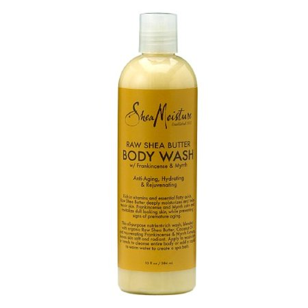 Shea Moisture Raw Shea Butter Body Wash, 13 fl oz (Molton Brown Body Wash 10 Fl Oz)