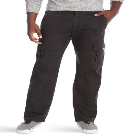 Mens Pvc Rain Overalls Pants (Wrangler Men's Relaxed Fit Cargo Pant with Stretch )