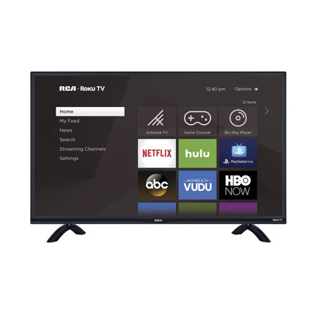 "RCA 55"" Class 4K Ultra HD (2160P) HDR Roku Smart LED TV (RTRU5527-W)"