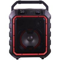 Blackweb Portable Bluetooth Party Speaker, Black