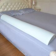 Costway Bed Rail Bumper Pad Toddler Kids Pet Elderly Semicircle Safety Cushion W/Bag