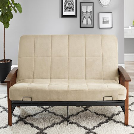 Better Homes Amp Gardens Mission Wood Arm Futon Multiple