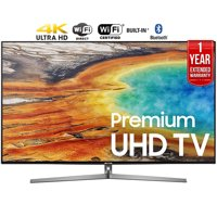 "Refurbished Samsung 75"" Class 4K (2160P) Smart LED TV (UN75MU9000FXZA) + 1 Year Extended Warranty"