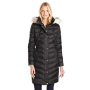 8144d71245f Halifax Traders Women s Puffer Coat with Faux Fur Hood