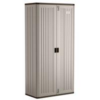 Suncast Mega Tall Storage Cabinet, Resin, BMC8000