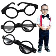 ce821c8d51eed nerd and round wizard glasses - 12 piece party favor