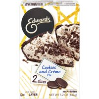 Edwards Cookies and Creme Pie 5.2 oz. Box