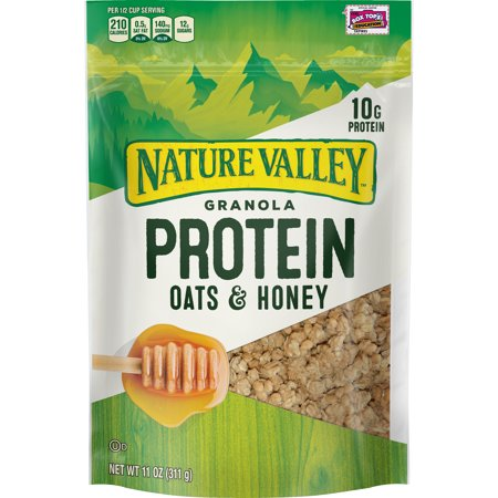 Nature Valley Granola, Protein, Oats & Honey, 11 oz