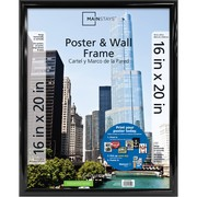 "Mainstays 16"" x 20"" Trendsetter Poster and Picture Wall Frame, Black"