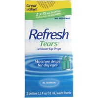 Refresh Tears Lubricant Eye Drops, 0.5 Oz