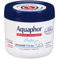 Aquaphor Baby Advanced Therapy Healing Ointment Skin Protectant 14 oz. Jar