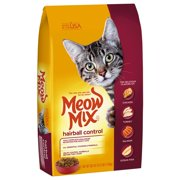 Meow Mix Hairball Control Dry Cat Food, 3.15 lb
