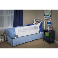 Regalo Swing Down Extra Long Bed Safety Rail, White